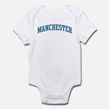 Manchester (blue) Infant Bodysuit