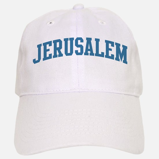 Jerusalem (blue) Baseball Baseball Cap