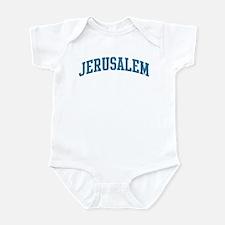 Jerusalem (blue) Infant Bodysuit