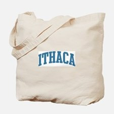 Ithaca (blue) Tote Bag