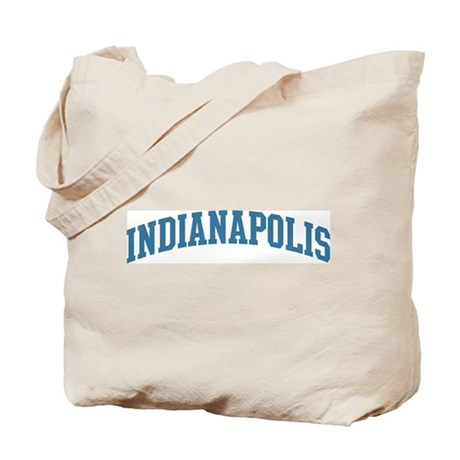 Indianapolis (blue) Tote Bag