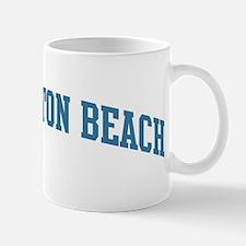 Huntington Beach (blue) Mug