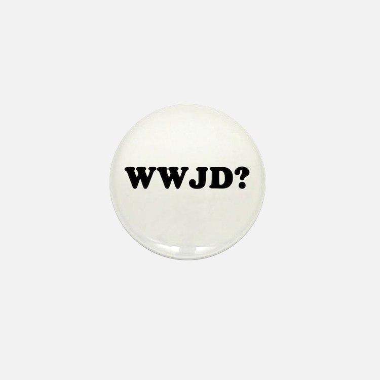 WWJD? Mini Button