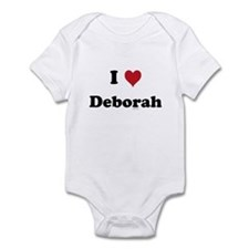 I love Deborah Infant Bodysuit