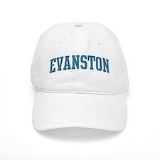 Evanston (blue) Baseball Cap