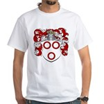 Van Der Kelder Coat of Arms White T-Shirt