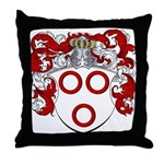 Van Der Kelder Coat of Arms Throw Pillow