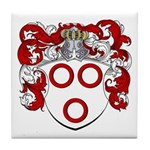 Van Der Kelder Coat of Arms Tile Coaster