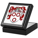 Van Der Kelder Coat of Arms Keepsake Box
