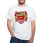 Van Der Kemp Coat of Arms White T-Shirt