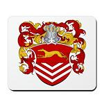 Van Der Kemp Coat of Arms Mousepad