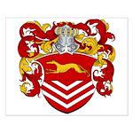 Van Der Kemp Coat of Arms Small Poster
