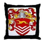 Van Der Kemp Coat of Arms Throw Pillow