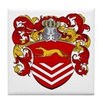 Van Der Kemp Coat of Arms Tile Coaster
