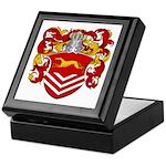 Van Der Kemp Coat of Arms Keepsake Box