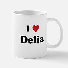 I love Delia Mug