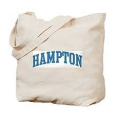 Hampton (blue) Tote Bag