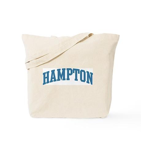 Hampton (blue) Tote Bag