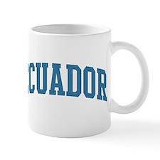 Ecuador (blue) Small Mug