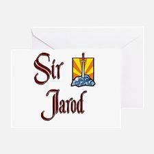 Sir Jarod Greeting Card