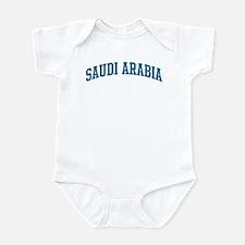Saudi Arabia (blue) Infant Bodysuit