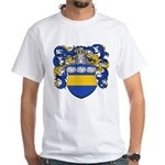 Van Der Laan Coat of Arms White T-Shirt