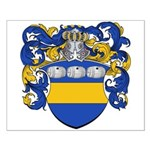 Van Der Laan Coat of Arms Small Poster