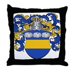 Van Der Laan Coat of Arms Throw Pillow