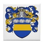 Van Der Laan Coat of Arms Tile Coaster