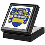 Van Der Laan Coat of Arms Keepsake Box