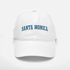 Santa Monica (blue) Baseball Baseball Cap