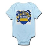 Van Der Laan Coat of Arms Infant Creeper