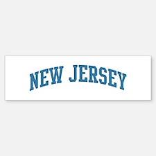 New Jersey (blue) Bumper Bumper Bumper Sticker