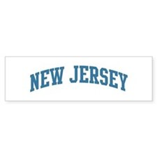 New Jersey (blue) Bumper Bumper Sticker