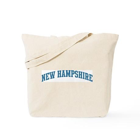 New Hampshire (blue) Tote Bag