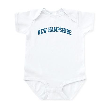 New Hampshire (blue) Infant Bodysuit