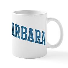 Santa Barbara (blue) Mug