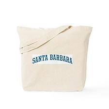 Santa Barbara (blue) Tote Bag