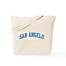 San Angelo (blue) Tote Bag