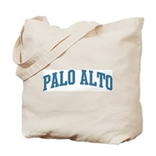 Palo Alto (blue) Tote Bag