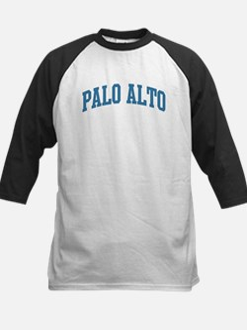 Palo Alto (blue) Kids Baseball Jersey