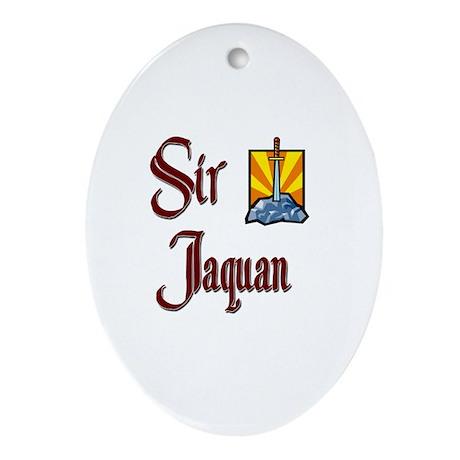 Sir Jaquan Oval Ornament