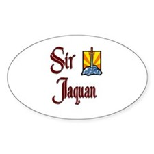 Sir Jaquan Oval Decal