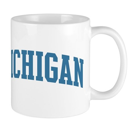 Michigan (blue) Mug