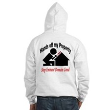 Hand's off my Property Jumper Hoody