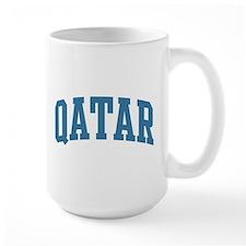 Qatar (blue) Mug