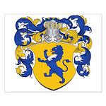 Van Der Meer Coat of Arms Small Poster