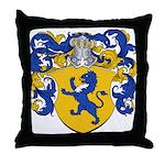 Van Der Meer Coat of Arms Throw Pillow