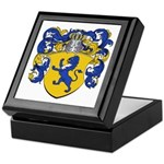 Van Der Meer Coat of Arms Keepsake Box