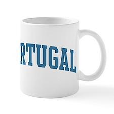 Portugal (blue) Mug
